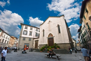 Giovanni's home turf: Piazza Sant' Ambrogio. Florence. Picture: ugo galasso http://www.flickr.com/photos/g_u/