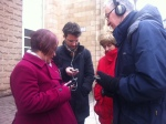 Do you hear a buzzing noise? App testing in Bristol, with Jo Reid, Fabrizio Nevola, Nicola Barranger, Richard Hull